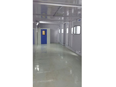 Dust Proof Chamber for Liquid Coating Booths