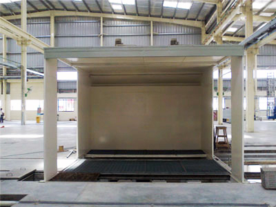 Primer Coating and Finish Painting Booths